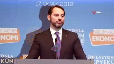 Hazine ve Maliye Bakanı Albayrak: 'Markette istediğimiz rakamlar yok. Onlarla konuşacağız'