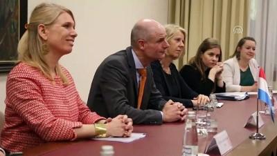 Hollanda Dışişleri Bakanı Blok Arnavutluk'ta - TİRAN