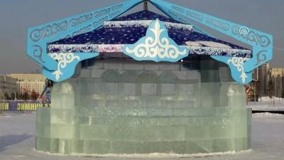 yaris - Kazakistan'da uluslararası buz heykelleri yarışması - ASTANA
