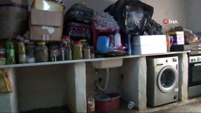 Kızıltepeli ailenin 'yağmur' korkusu...1 ay içinde evlerini 3 kez su bastı