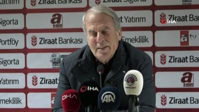 """beraberlik - Mustafa Denizli: """"İki ayaklı maçların her zaman riski vardır"""""""