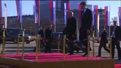 Rusya Devlet Başkanı Putin Sırbistan'da - Karşılama töreni - BELGRAD