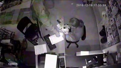 'Tırnakçılık' yöntemiyle hırsızlık güvenlik kamerasında - KOCAELİ