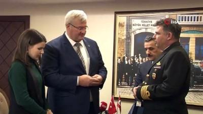 kuru yuk gemisi -  Ukrayna Büyükelçisi'nden ilginç batan gemi yorumu