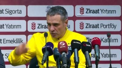 Yanal: 'Fenerbahçe, kazanma tavrı gösterir ve bu tavrı gösterecek oyuncularla oynar' - İSTANBUL