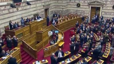 istifa - Yunanistan Başbakanı Çipras güven tazeledi - ATİNA