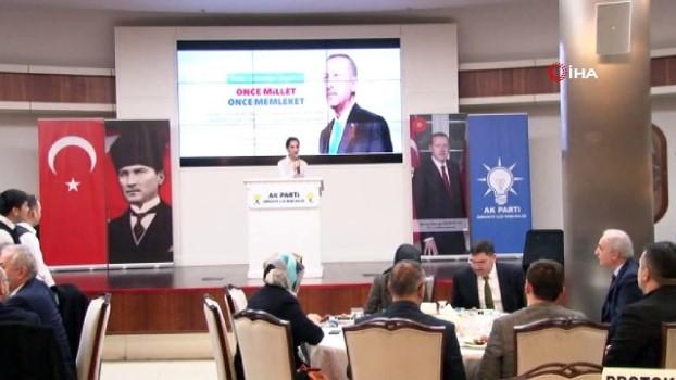 kiraathane -  AK Parti Ümraniye Belediye Başkan adayı Yıldırım, Ümraniye teşkilatında görev alan partililerle bir araya geldi
