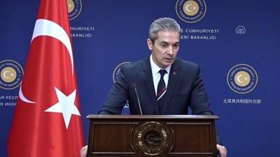 Aksoy: 'Provokasyonların İdlib mutabakatını aşındırmasına izin vermeyeceğiz' - ANKARA