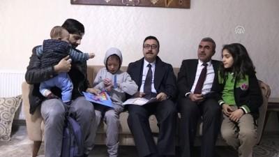 'Balık pulu' hastası Melih karne heyecanını evinde yaşadı - MARDİN