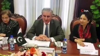 multeci -  - Bm Genel Kurulu Başkanı Espinosa, Pakistan'a Geldi