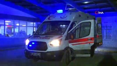saglik ekipleri -  Definecilerin hazırladığı dinamit patladı: 2 yaralı