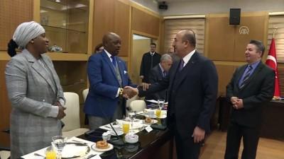 Dışişleri Bakanı Çavuşoğlu, Afrikalı Büyükelçilerle bir araya geldi - ANKARA