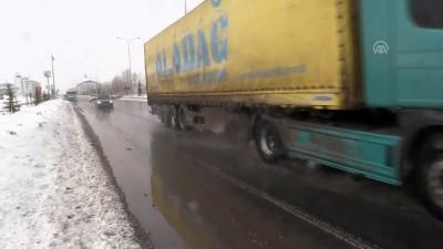 kar yagisi - Doğu Anadolu'da 848 köy ve mahalle yolu ulaşıma kapalı - AĞRI