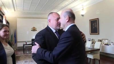 bassavci - İçişleri Bakanı Soylu, Bulgaristan Başbakanı Borisov'la görüştü - SOFYA