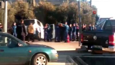 Mersin'de askeri araç kaza yaptı: 4'ü asker 5 yaralı