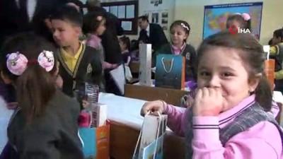 basin mensuplari -  Minik öğrencilerin haberlere konu olma sevinci