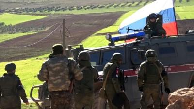Rus ordusu, Münbiç'in çevresinde bağımsız ve 'ortak' devriye yapıyor - MÜNBİÇ