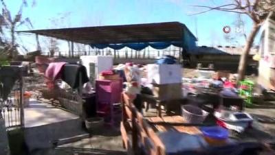 Selin vurduğu köylerde hasar tespit çalışmalarına başlandı