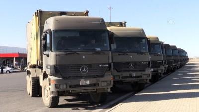 Suriye sınırına askeri sevkiyat - GAZİANTEP