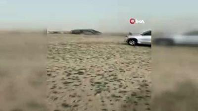 - Suudi Arabistan'da Kum Fırtınası Hayatı Felç Etti