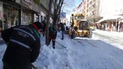 kar yagisi - 97 köy yolu ulaşıma kapandı - BİNGÖL