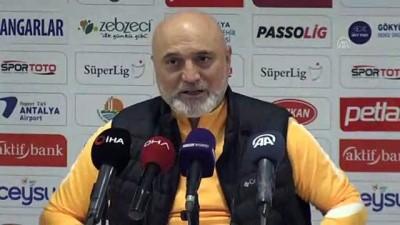 Antalyaspor-İstikbal Mobilya Kayserispor maçının ardından - ANTALYA
