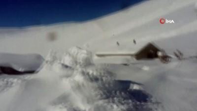 kar yagisi -  Bingöl'ün Karlıova ilçesinde çığ düştü