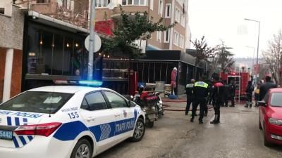 polis - Çatıda çıkan yangın öğrenci evine sıçradı - EDİRNE