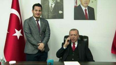 Cumhurbaşkanı Erdoğan, kız istedi
