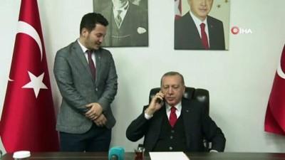 allah -  Cumhurbaşkanı Erdoğan, Samsun'da bir doktora telefonda kız istedi