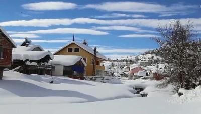 Eğriçimen Yaylası'nda kış güzelliği - SİVAS