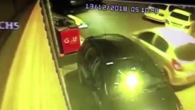 Hırsızlık zanlıları güvenlik kamerasından kaçamadı - İSTANBUL