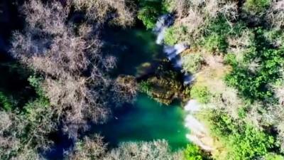 Kurşunlu Şelalesi kışın da turistlerin gözdesi - ANTALYA