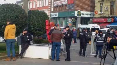 yerel secimler - Osmanlı Partisi Genel Başkanı İbrahim Ünye Giresun'da boş meydana konuştu