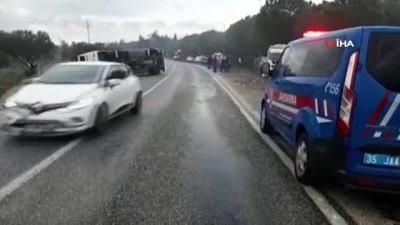 bild -  Tarım işçilerini taşıyan otobüs devrildi: 17 yaralı