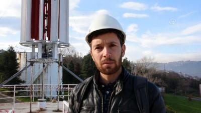 KTÜ'de rüzgar enerjisiyle elektrik üretilecek - TRABZON