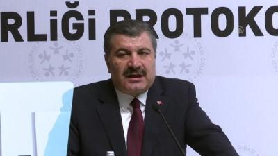 Sağlık Bakanı Koca: 'Okullarımızın yüzde kırkına yakını beslenme dostu okul unvanını aldı' - ANKARA