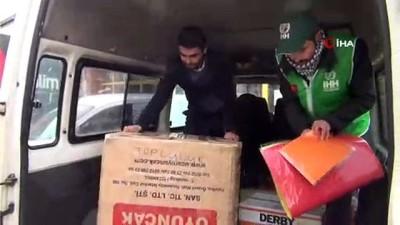 Üniversiteli gençler, Diyarbakır'daki köy okula yardım elini uzattı