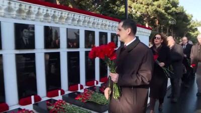 basin mensuplari - Azerbaycan'da 'Kanlı Ocak' kurbanları anılıyor - BAKÜ