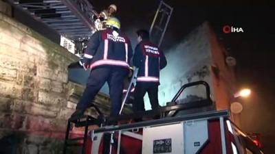 polis -  Fatih'te yangın: 1 kişi hayatını kaybetti, 2 kişi yaralandı