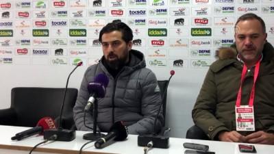 Hatayspor-Gençlerbirliği maçının ardından - HATAY