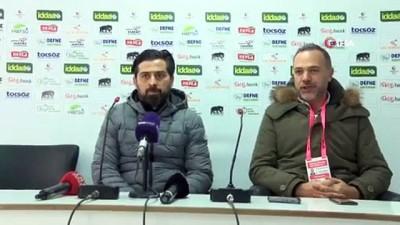 Hatayspor - Gençlerbirliği maçının ardından