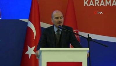 İçişleri Bakanı Süleyman Soylu: ' Haksız seçmen taşımaları söz konusu olabilir, buna tedbir alıyoruz'