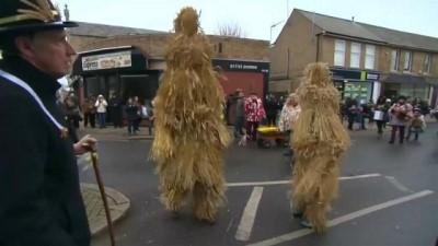 İngiltere'de Samandan Ayı Festivali: 1882'den beri