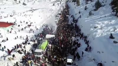 Kar şenliğine yoğun katılım - ADANA