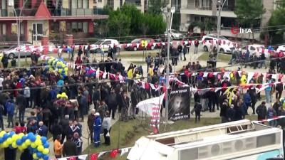 Koray Şener Parkı'nın açılışını Ali Koç yaptı
