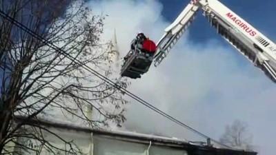 Köy camisinde çıkan yangın söndürüldü - BOLU