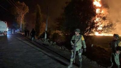 Meksika'da petrol boru hattında patlama: Ölü sayısı 79'a yükseldi