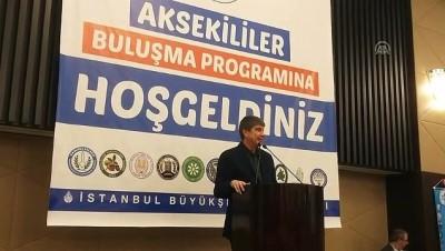 Menderes Türel, İstanbul'da yaşayan Aksekililerle buluştu - İSTANBUL