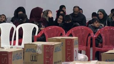 Türk Kızılayından Halepçe'deki ihtiyaç sahiplerine kış yardımı